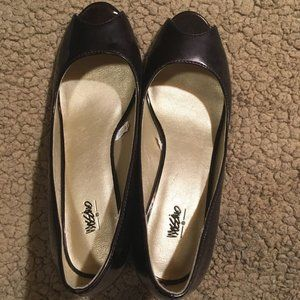 Mossimo Patent Brown Heels